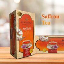 چای زعفران کیسه ای کشاورز